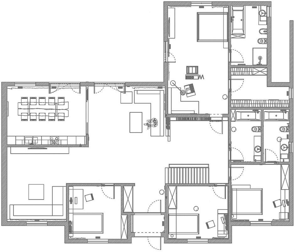 Фотография: Планировки в стиле , Дом, Дома и квартиры, Проект недели, Эко – фото на INMYROOM