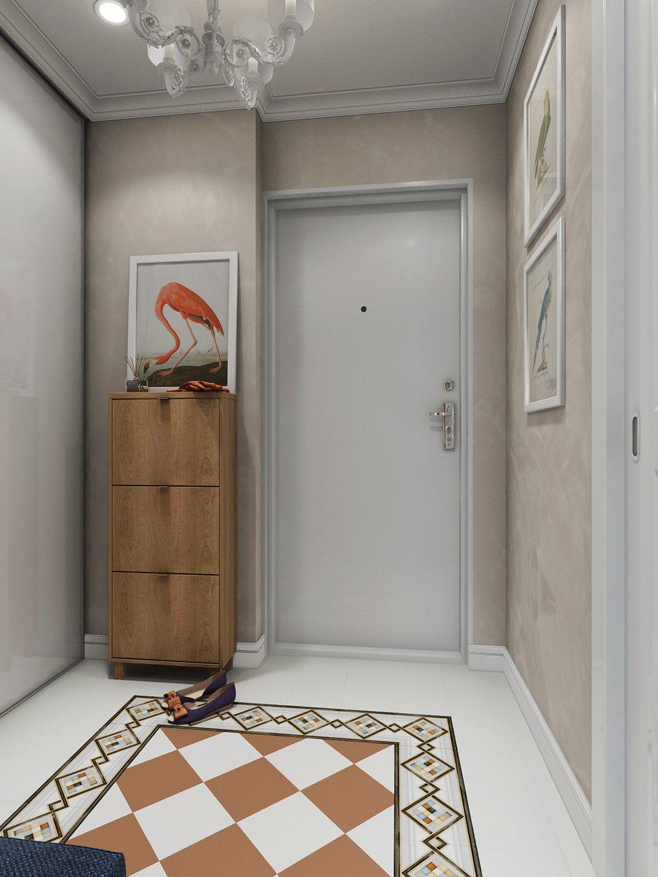 Фотография: Прихожая в стиле Прованс и Кантри, Эклектика, Современный, Квартира, Проект недели – фото на INMYROOM