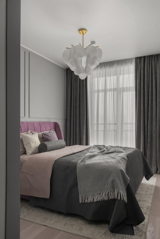 Фотография: Спальня в стиле Современный, Квартира, Проект недели, Москва, 3 комнаты, 60-90 метров, Balcon – фото на INMYROOM