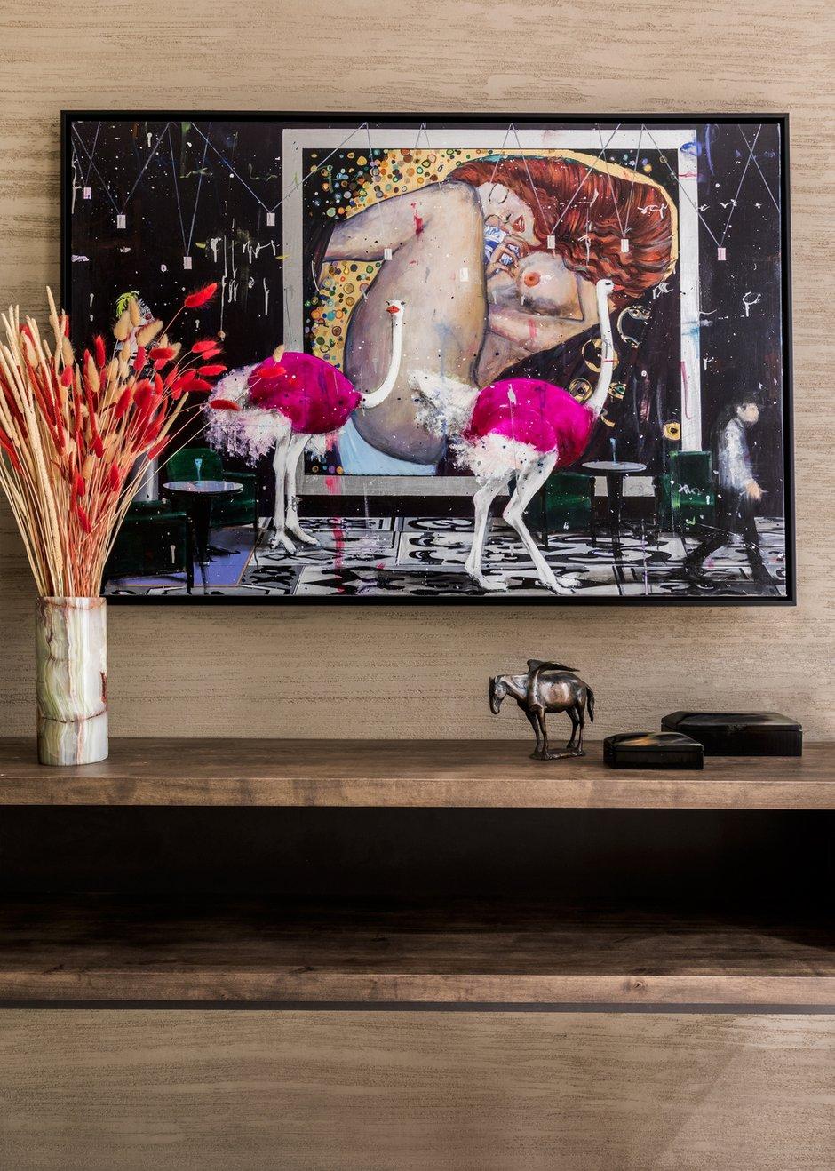 Фотография: Гостиная в стиле Современный, Эклектика, Квартира, Проект недели, Москва, 4 и больше, Более 90 метров, #эксклюзивныепроекты, Кирилл Сахаров – фото на INMYROOM