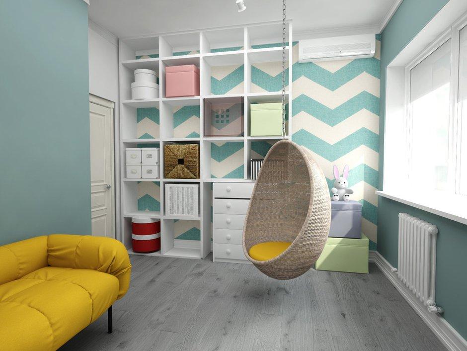 Фотография: Декор в стиле Скандинавский, Квартира, Белый, Проект недели, Синий – фото на INMYROOM