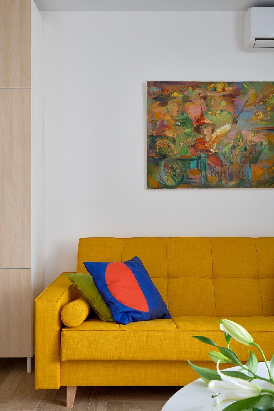 Фотография:  в стиле , Современный, Квартира, Студия, Советы, Москва, до 40 метров, Тамара Киселева – фото на INMYROOM