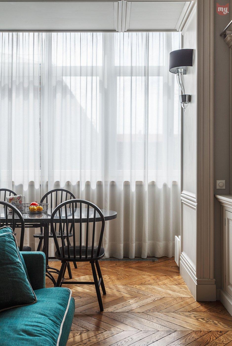 Фотография: Кухня и столовая в стиле Прованс и Кантри, Эклектика, Квартира, Проект недели, Москва, Ольга Абрамова, Монолитный дом, 3 комнаты, Более 90 метров – фото на INMYROOM