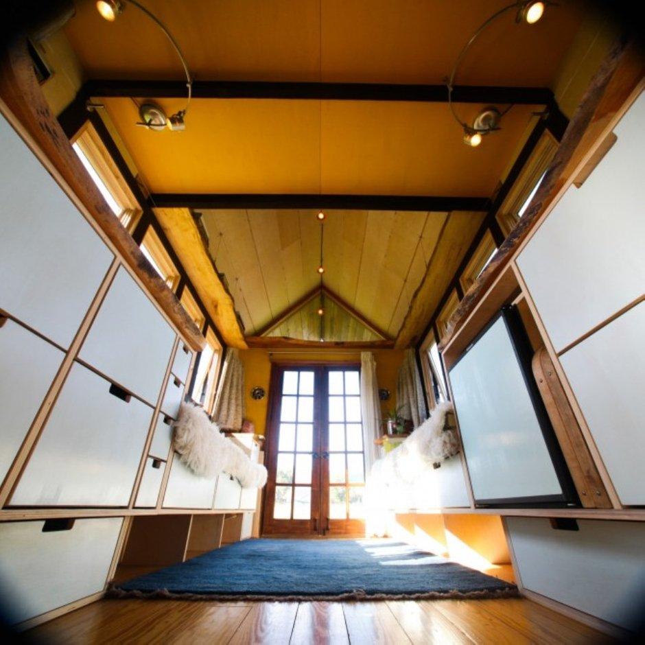 Фотография: Гостиная в стиле Современный, Дом, Дома и квартиры, Дача, Дом на колесах – фото на INMYROOM