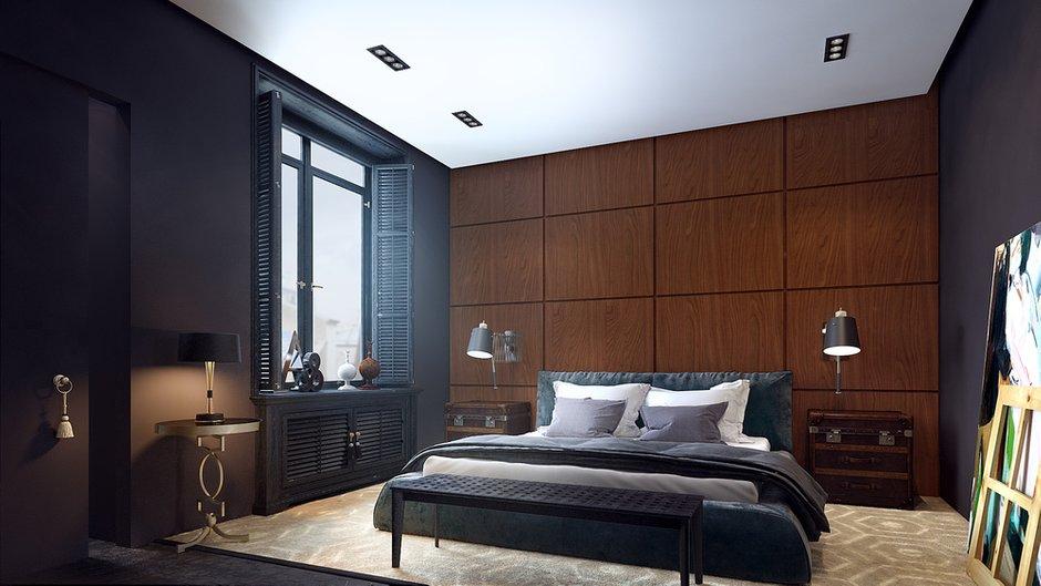 Фотография: Спальня в стиле Восточный, Квартира, Дома и квартиры, Проект недели, Ар-деко – фото на INMYROOM