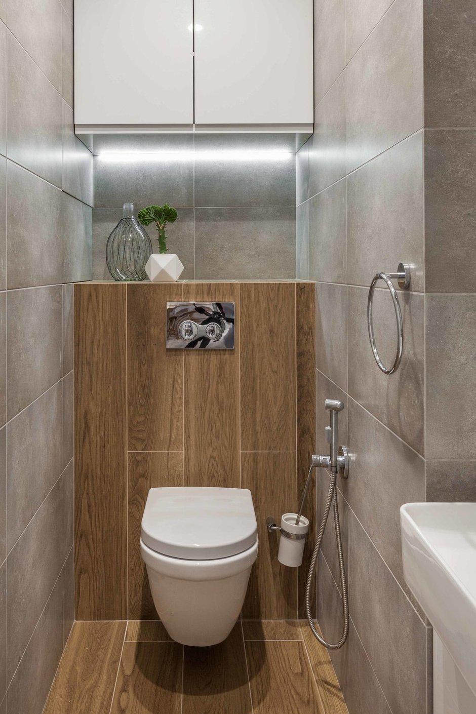 Фотография: Ванная в стиле Современный, Квартира, Проект недели, Минск, 3 комнаты, 60-90 метров, Вероника Зазнова – фото на INMYROOM