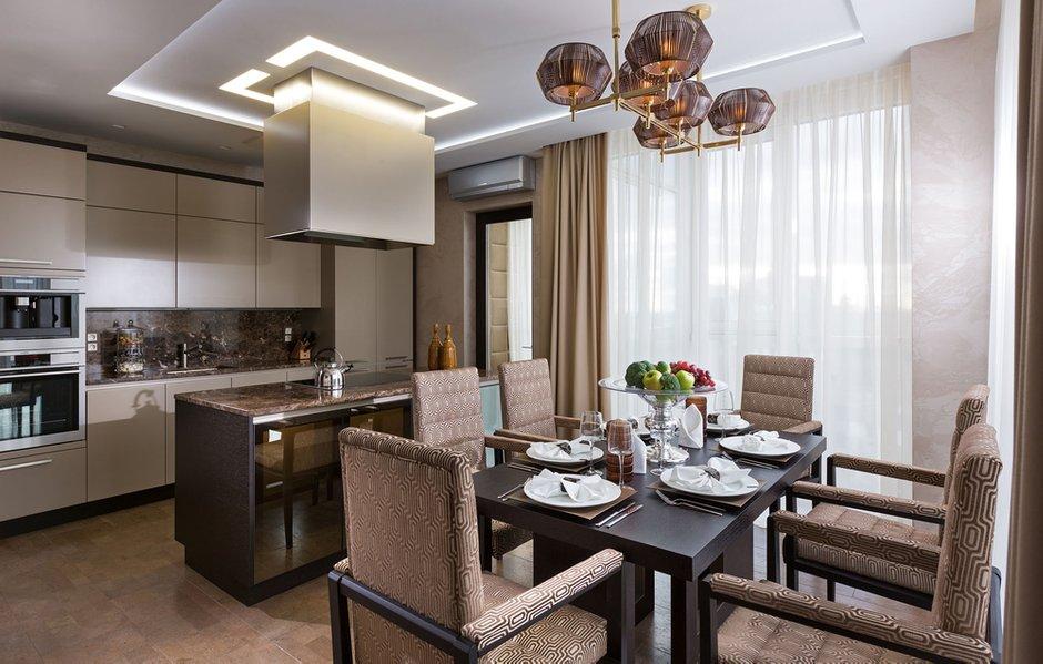 Фотография: Кухня и столовая в стиле Классический, Современный, Эклектика, Квартира, Проект недели – фото на INMYROOM