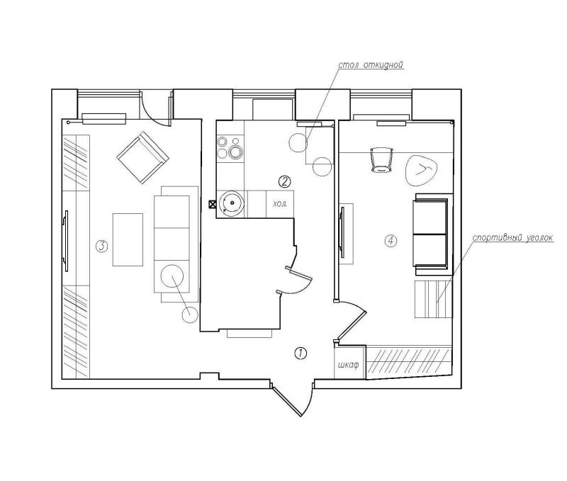Фотография: Планировки в стиле , Декор интерьера, Квартира, Дома и квартиры, IKEA, Проект недели, Градиз – фото на INMYROOM