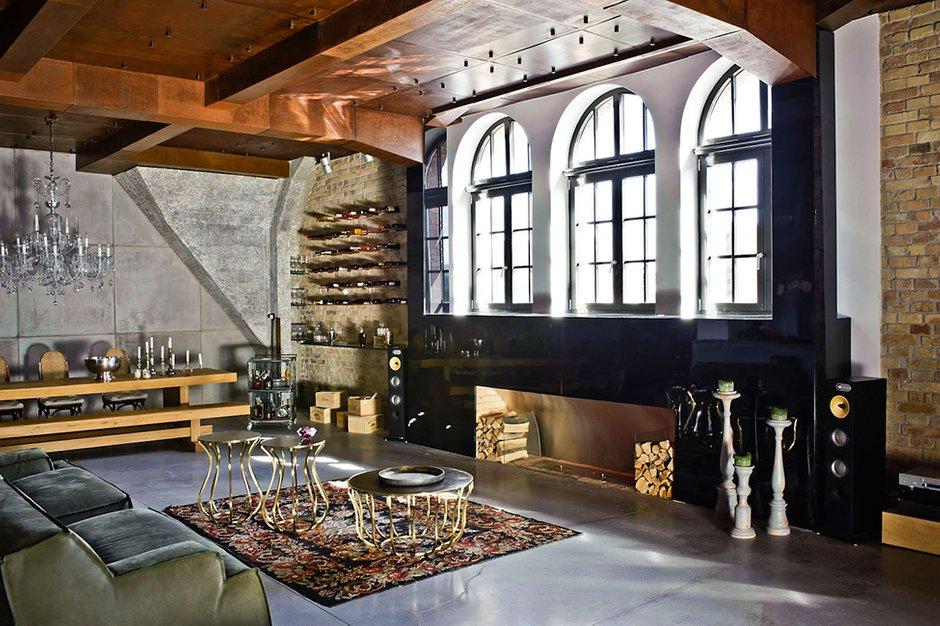 Фотография: Гостиная в стиле Лофт, Декор интерьера, Квартира, Дома и квартиры, Проект недели, Илья Беленя – фото на INMYROOM