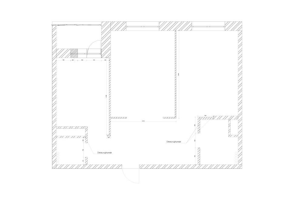 Фотография: Планировки в стиле , Современный, Квартира, Проект недели, Москва, 3 комнаты, 60-90 метров, Евгения Постухова – фото на INMYROOM