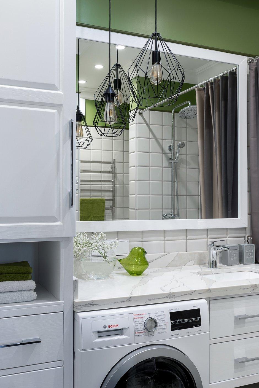 Фотография: Ванная в стиле Современный, Классический, Квартира, Проект недели, 3 комнаты, 60-90 метров, Владивосток, Елена Теплова – фото на INMYROOM