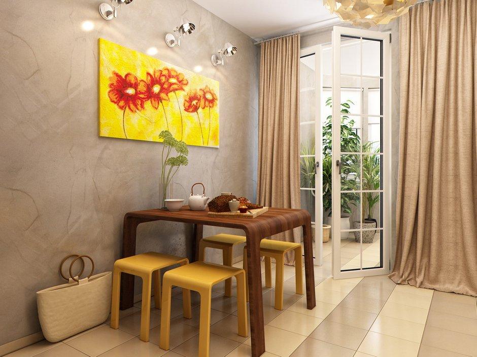 Фотография: Кухня и столовая в стиле Современный, Лофт, Квартира, Проект недели – фото на INMYROOM