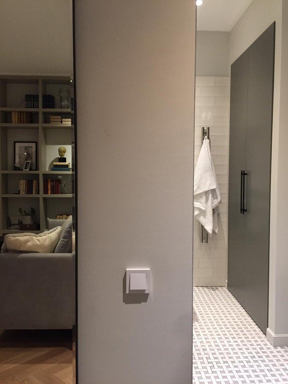 Фотография: Ванная в стиле Современный, Квартира, Проект недели, Москва, 2 комнаты, 40-60 метров, Planidesign – фото на INMYROOM