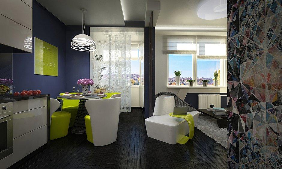 Фотография: Кухня и столовая в стиле Современный, Квартира, BoConcept, Дома и квартиры, IKEA, Москва, Dulux – фото на INMYROOM