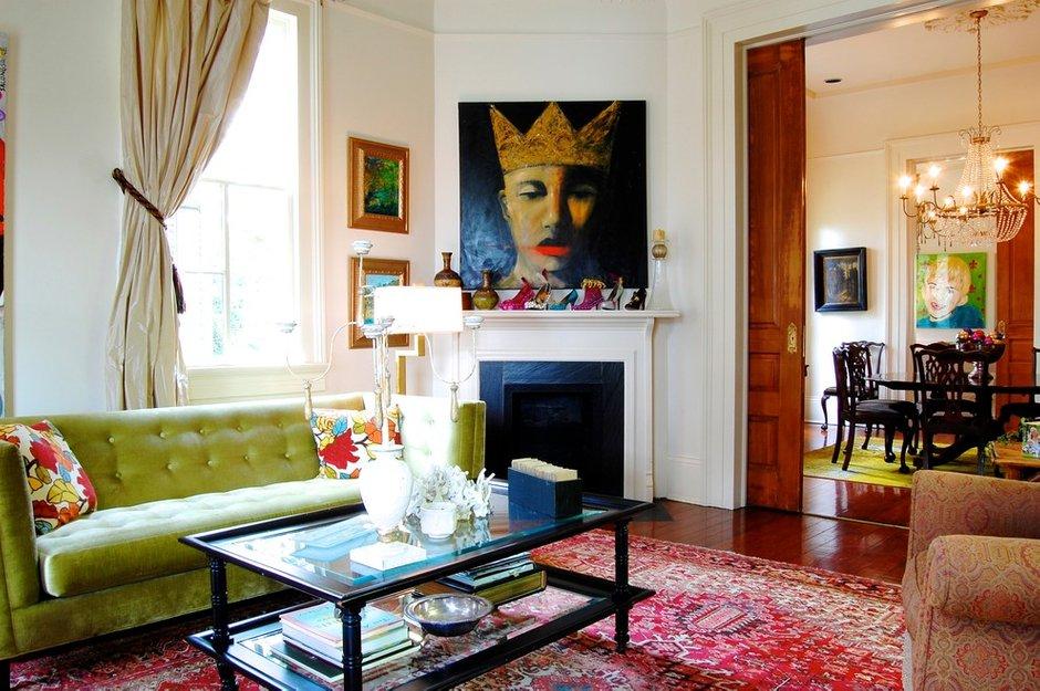 Фотография: Гостиная в стиле Современный, Эклектика, Декор интерьера, Интерьер комнат, Проект недели – фото на INMYROOM