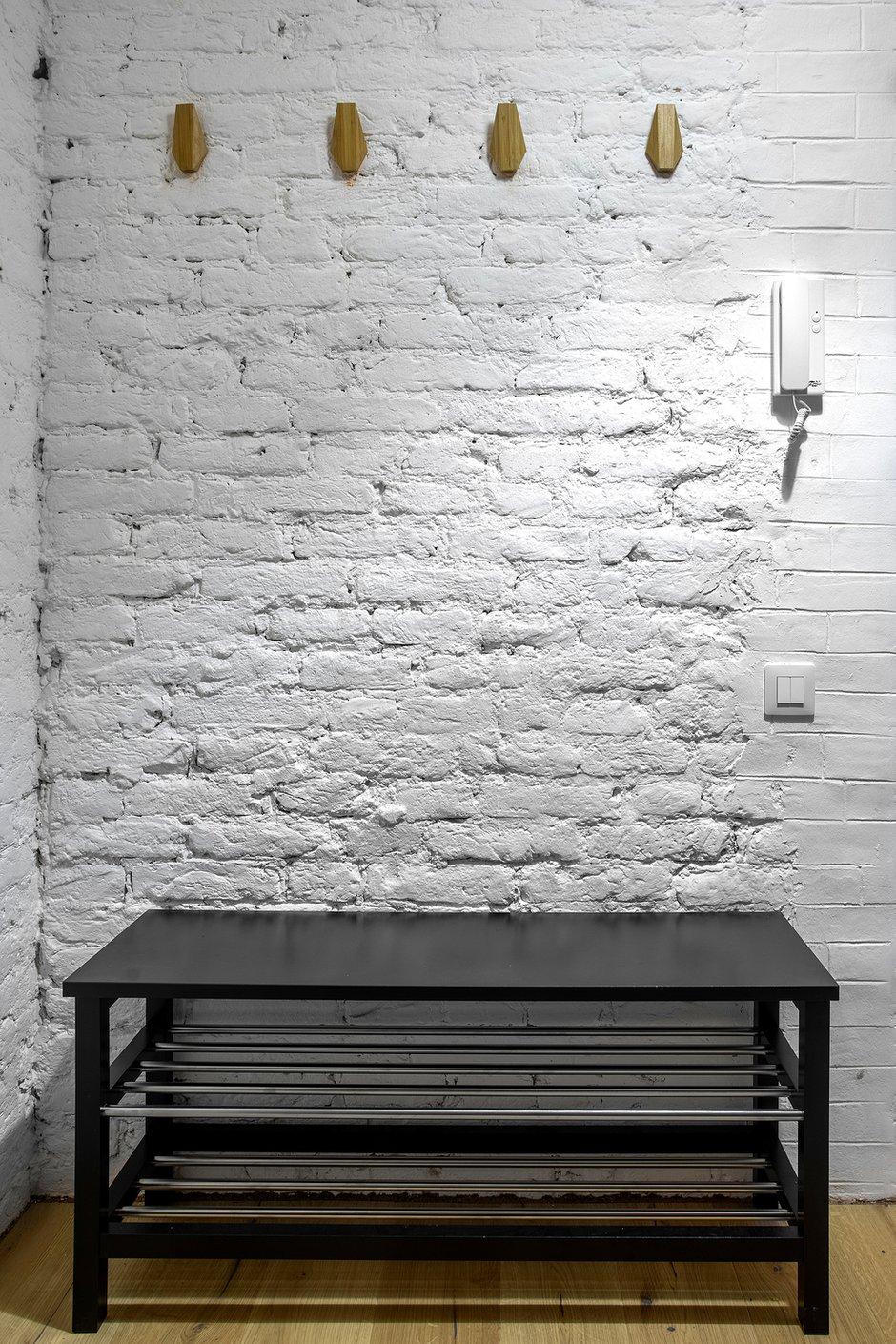 Фотография: Прихожая в стиле Лофт, Квартира, Проект недели, Санкт-Петербург, Кирпичный дом, 2 комнаты, 40-60 метров, Bobo.space – фото на INMYROOM
