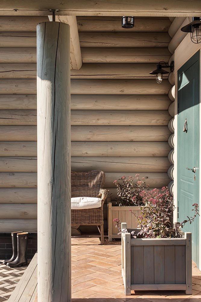 Фотография: Балкон, Терраса в стиле Прованс и Кантри, Дом, Дома и квартиры, Проект недели, Эко – фото на INMYROOM