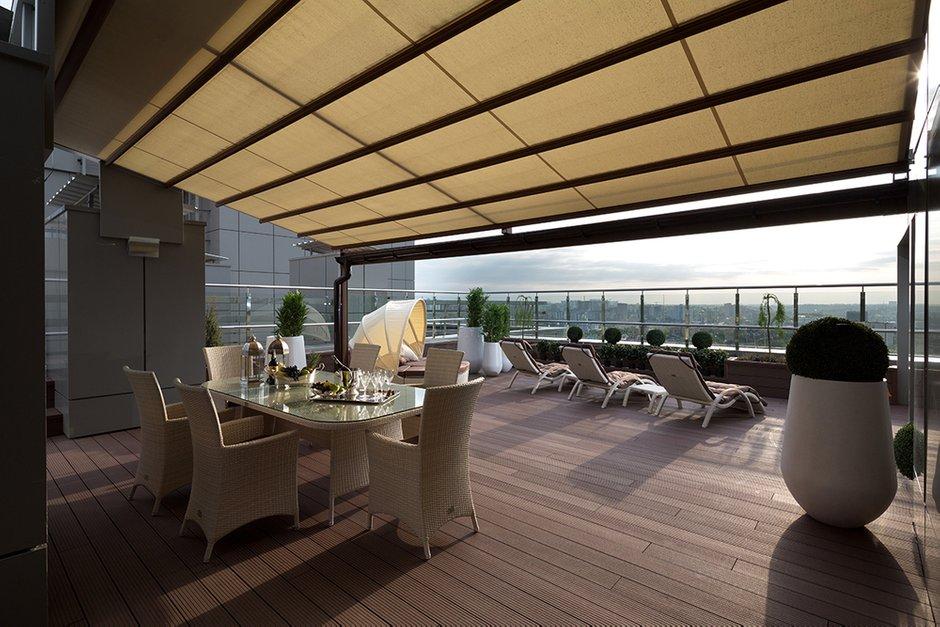 Фотография: Балкон, Терраса в стиле Современный, Классический, Квартира, Дома и квартиры, Пентхаус – фото на INMYROOM