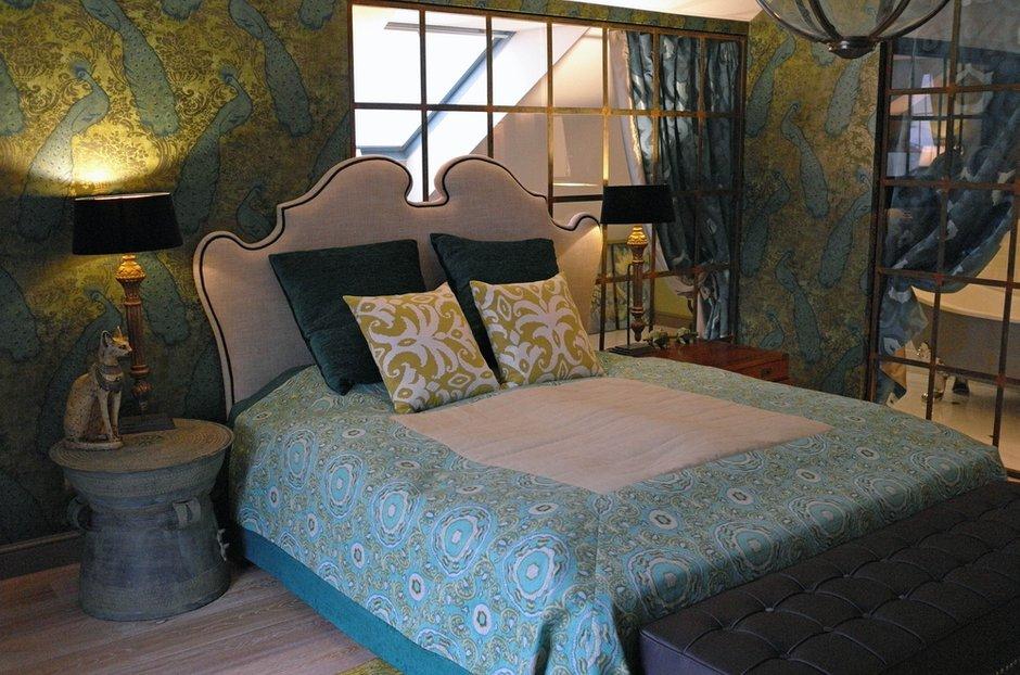 Фотография: Спальня в стиле , Квартира, Eichholtz, Spiridon, Дома и квартиры, Проект недели – фото на INMYROOM