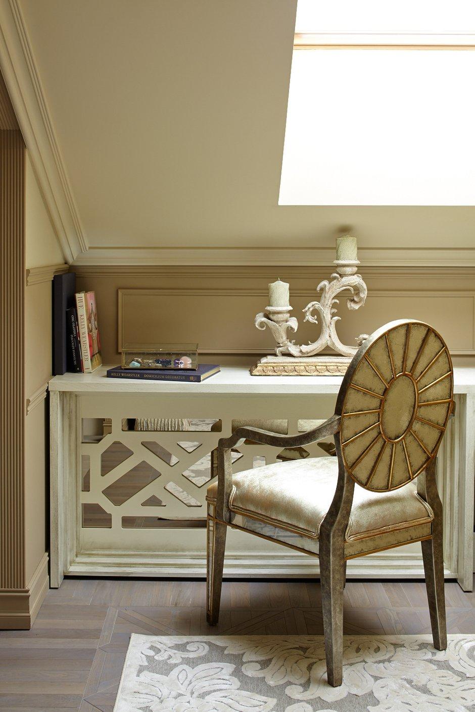 Фотография: Офис в стиле , Классический, Эклектика, Квартира, Текстиль, Дома и квартиры – фото на INMYROOM