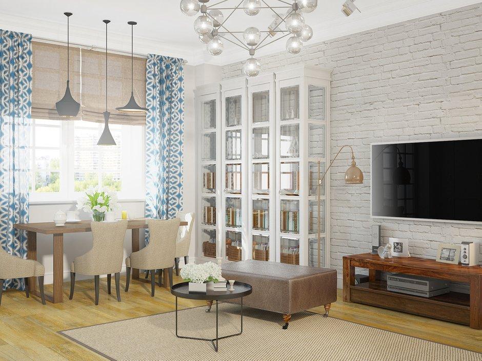 Фотография: Гостиная в стиле Лофт, Современный, Квартира, Дома и квартиры, Москва – фото на INMYROOM
