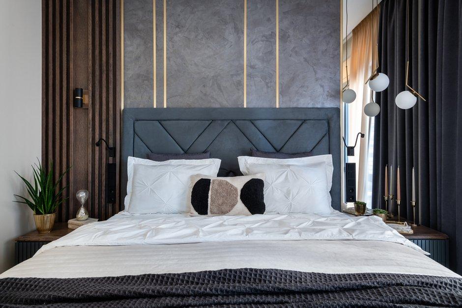 Фотография: Спальня в стиле Современный, Квартира, Проект недели, Москва, 3 комнаты, 60-90 метров, Карина Римик – фото на INMYROOM