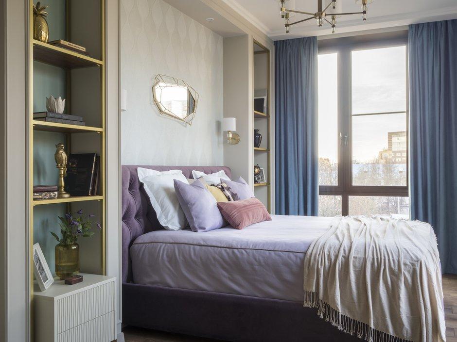 Фотография: Спальня в стиле Классический, Современный, Квартира, Проект недели, Нижний Новгород, 2 комнаты, 60-90 метров, Bilbao Design – фото на INMYROOM