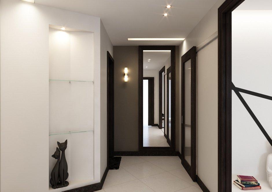 Фотография: Прихожая в стиле Современный, Квартира, Дома и квартиры, Минимализм, Проект недели – фото на INMYROOM