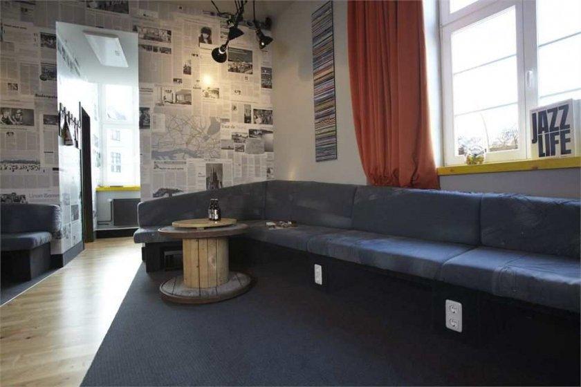 Фотография: Гостиная в стиле Современный, Дома и квартиры, Городские места, Отель, Проект недели, Хостел – фото на INMYROOM