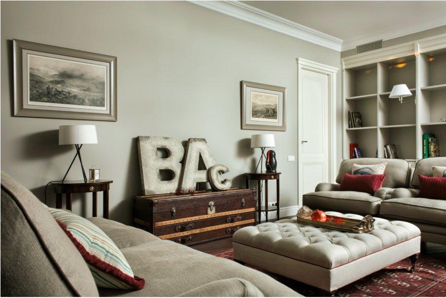 Фотография: Гостиная в стиле Прованс и Кантри, Современный, Декор интерьера – фото на INMYROOM