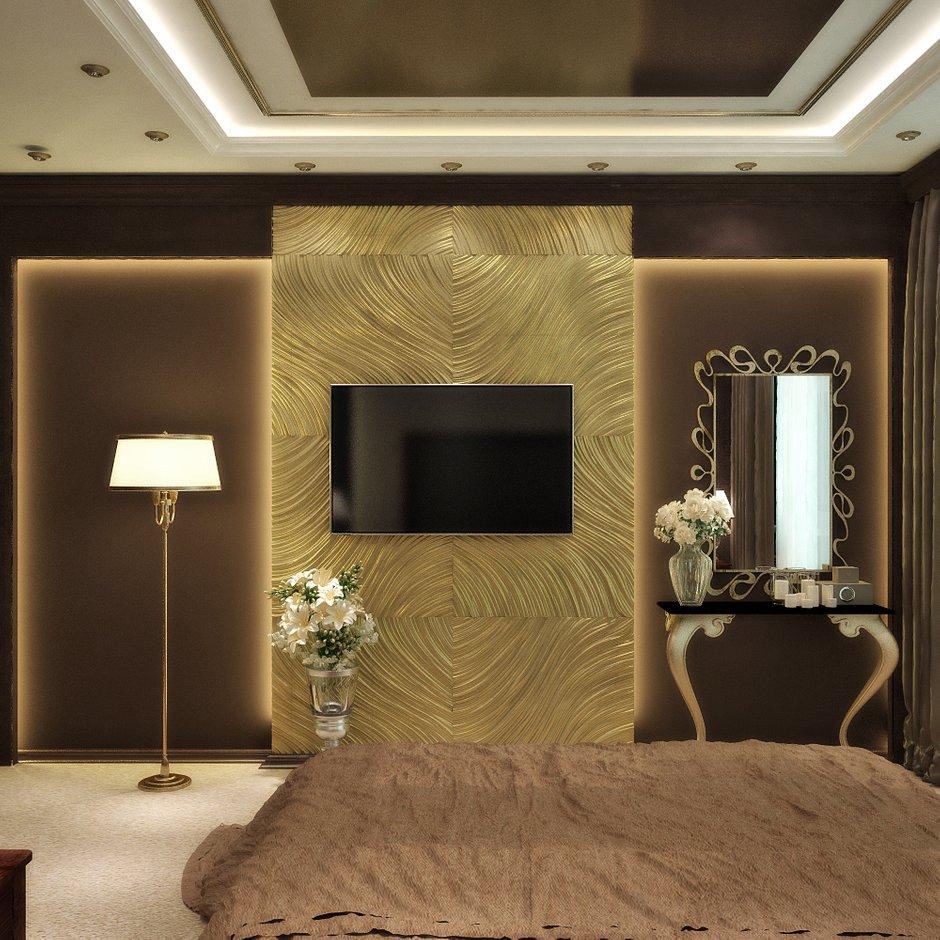 Фотография: Спальня в стиле Эклектика, Квартира, Дома и квартиры, Проект недели, Москва – фото на INMYROOM