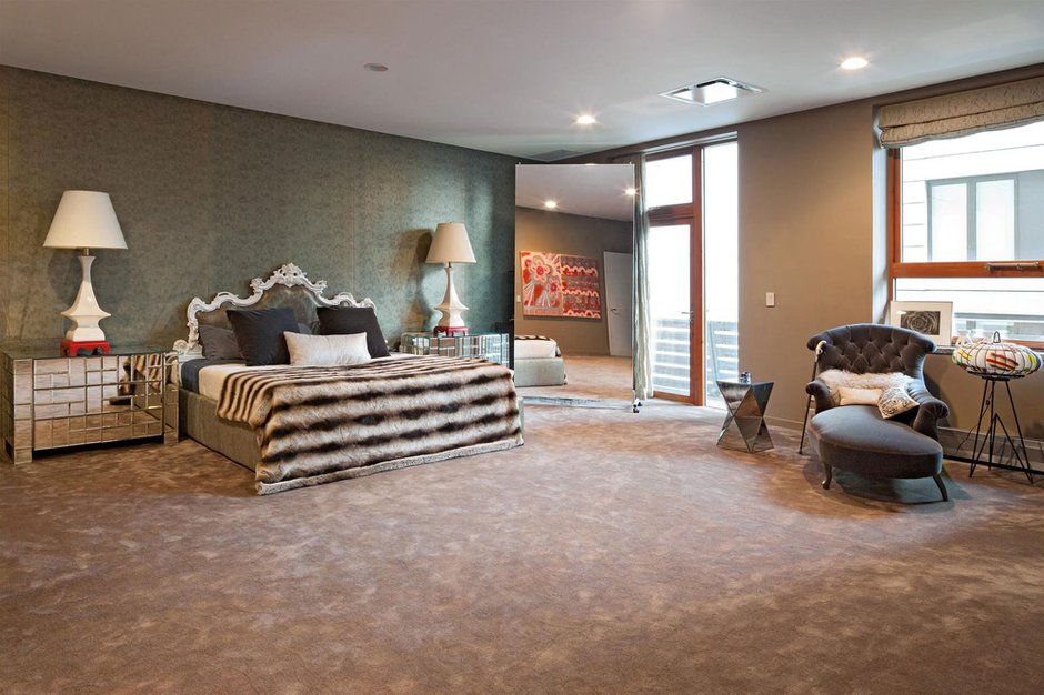 Фотография: Спальня в стиле Классический, Современный, Квартира, Дома и квартиры – фото на INMYROOM