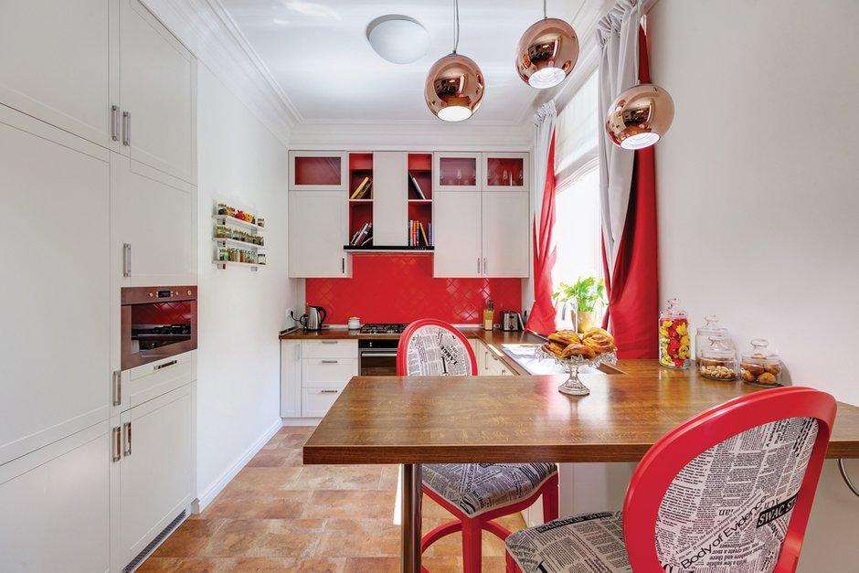 Фотография: Кухня и столовая в стиле Современный, Эклектика, Квартира, Дома и квартиры, Проект недели – фото на INMYROOM
