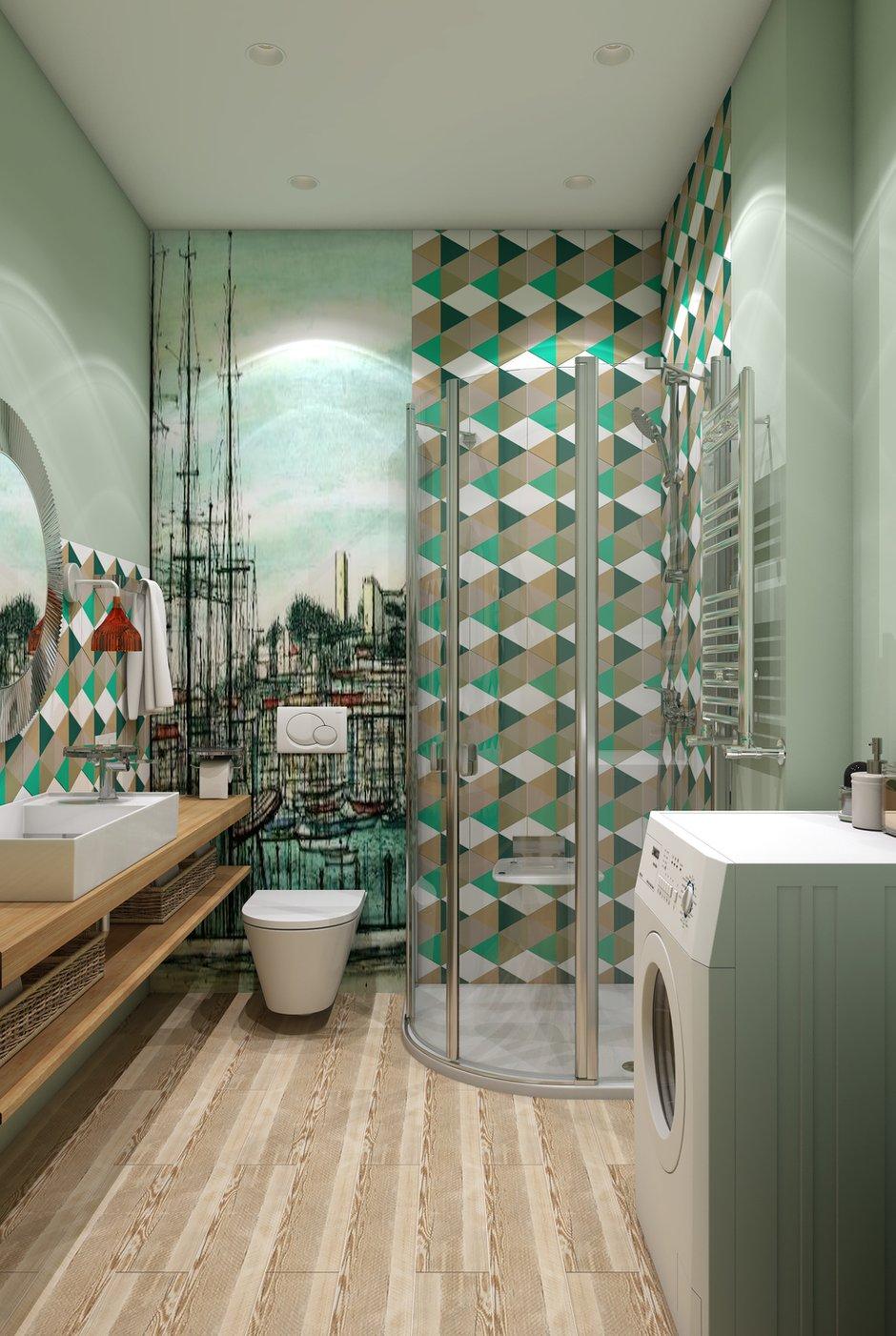 Фотография: Ванная в стиле Современный, Квартира, Студия, Проект недели, Марина Саркисян, Финляндия, до 40 метров – фото на INMYROOM
