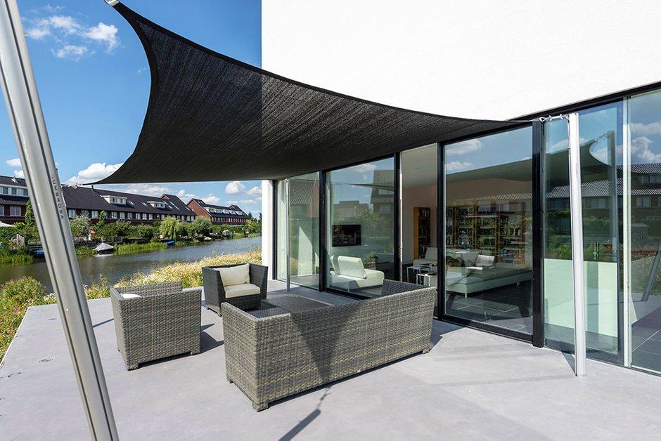 Фотография: Балкон, Терраса в стиле Современный, Дом, Дома и квартиры – фото на INMYROOM