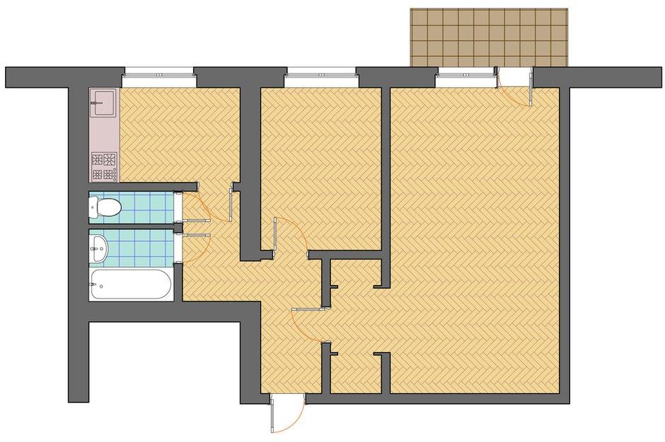 Фотография: Планировки в стиле , Декор интерьера, Квартира, Дом, Дома и квартиры, Ремонт – фото на INMYROOM