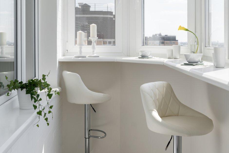 Фотография: Балкон в стиле Современный, Квартира, Проект недели, Марина Саркисян, Долгопрудный, 1 комната, 40-60 метров, ПРЕМИЯ INMYROOM – фото на INMYROOM