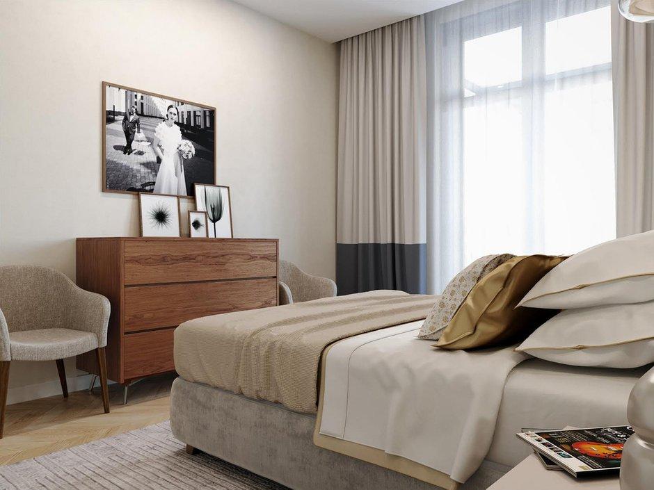 Фотография: Спальня в стиле Современный, Квартира, Проект недели, Москва, Светлана Старцева, 3 комнаты, Более 90 метров – фото на INMYROOM