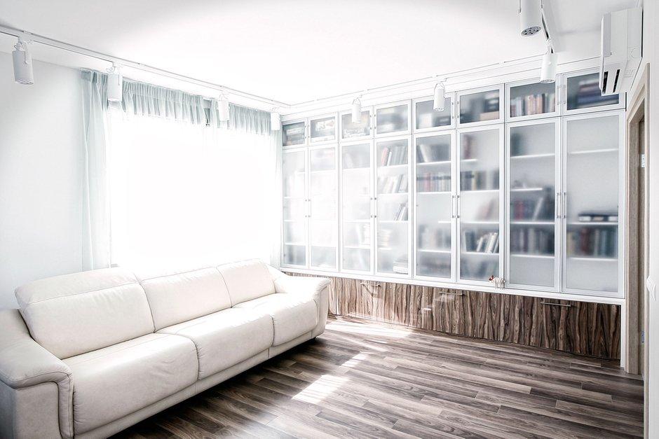 Фотография: Гостиная в стиле Скандинавский, Квартира, Текстиль, Декор, Дома и квартиры, IKEA, Проект недели, Москва – фото на INMYROOM