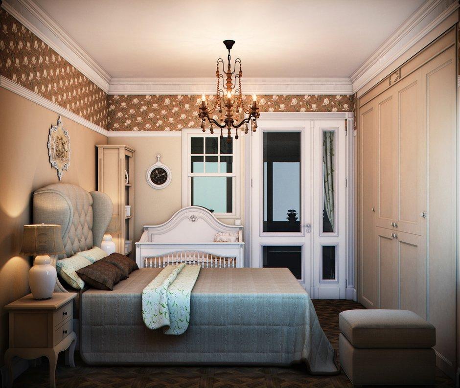 Фотография: Спальня в стиле Прованс и Кантри, Классический, Квартира, Проект недели – фото на INMYROOM