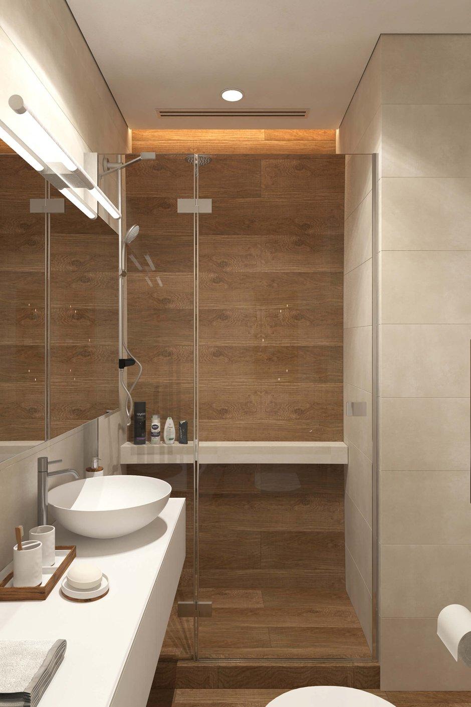Фотография: Ванная в стиле Современный, Квартира, Проект недели, Geometrium – фото на INMYROOM