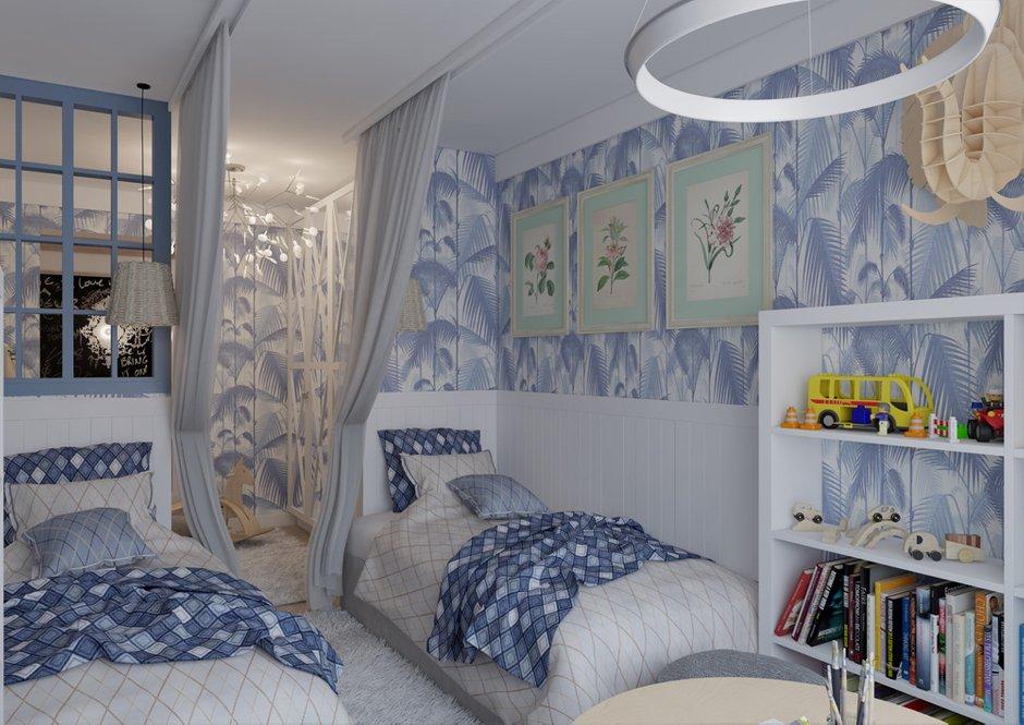 Фотография: Детская в стиле Прованс и Кантри, Квартира, BoConcept, Дома и квартиры, Проект недели – фото на INMYROOM