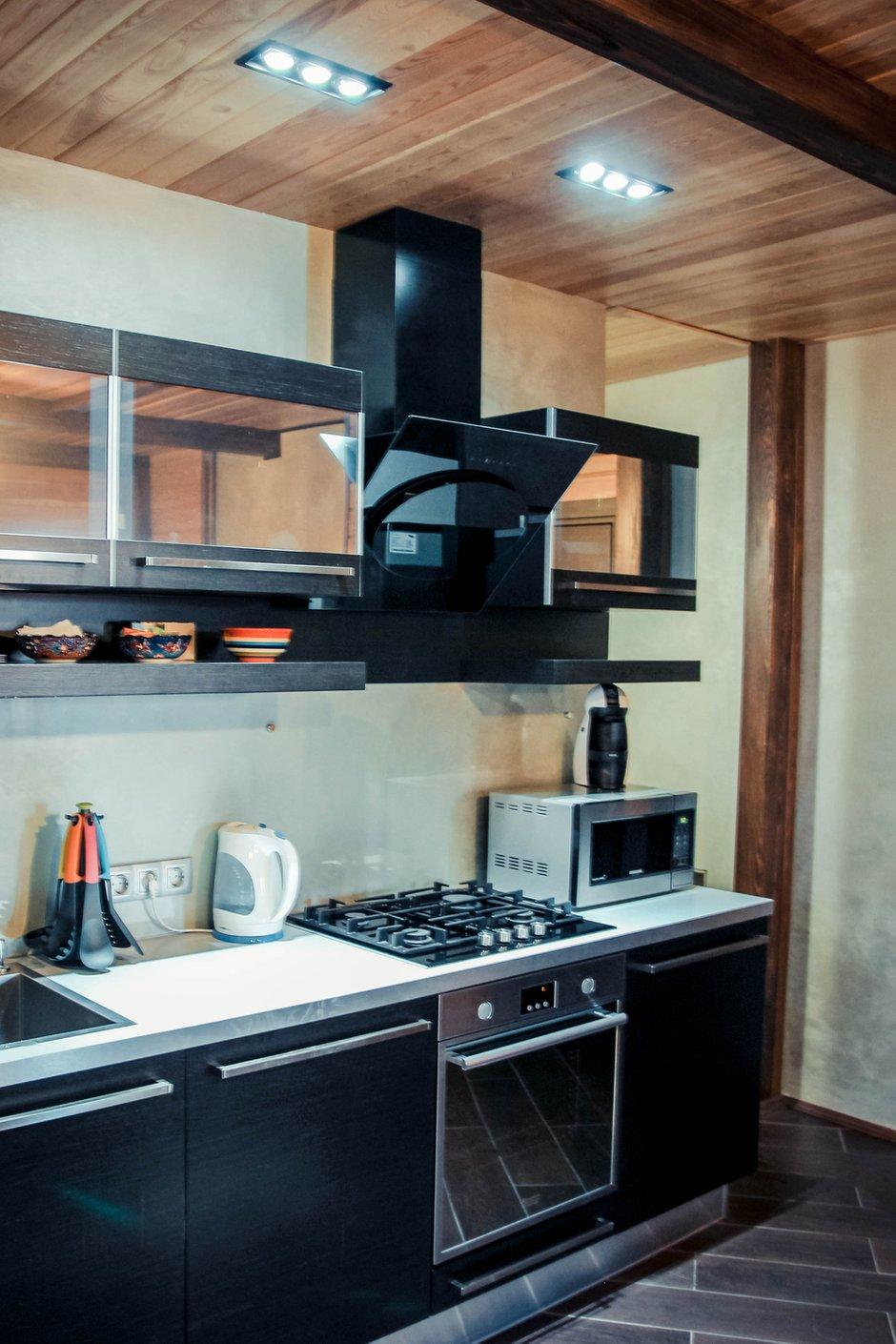 Фотография: Кухня и столовая в стиле Лофт, Современный, Дом, Дома и квартиры, Шале – фото на INMYROOM