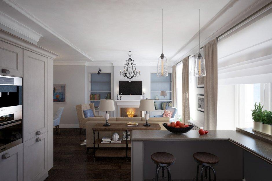Фотография: Кухня и столовая в стиле Прованс и Кантри, Квартира, Проект недели, Санкт-Петербург, Светлана Гаврилова – фото на INMYROOM