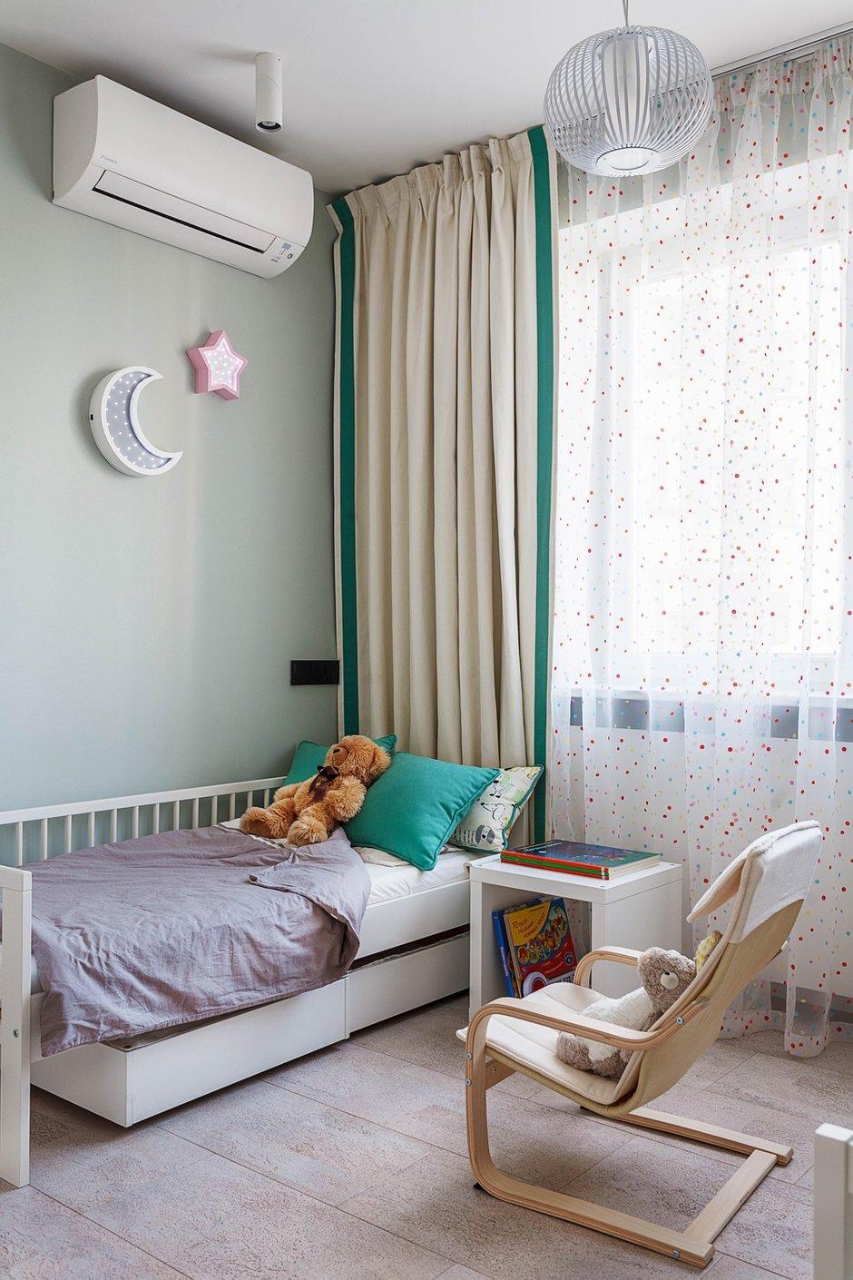 Фотография: Детская в стиле Современный, Квартира, Проект недели, Москва, ИКЕА, Мила Титова, П44т – фото на INMYROOM