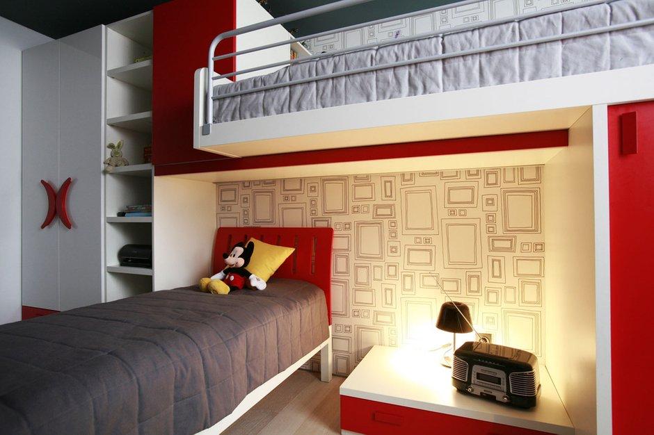 Фотография: Детская в стиле Хай-тек, Квартира, Дома и квартиры, Перепланировка, Ремонт – фото на INMYROOM
