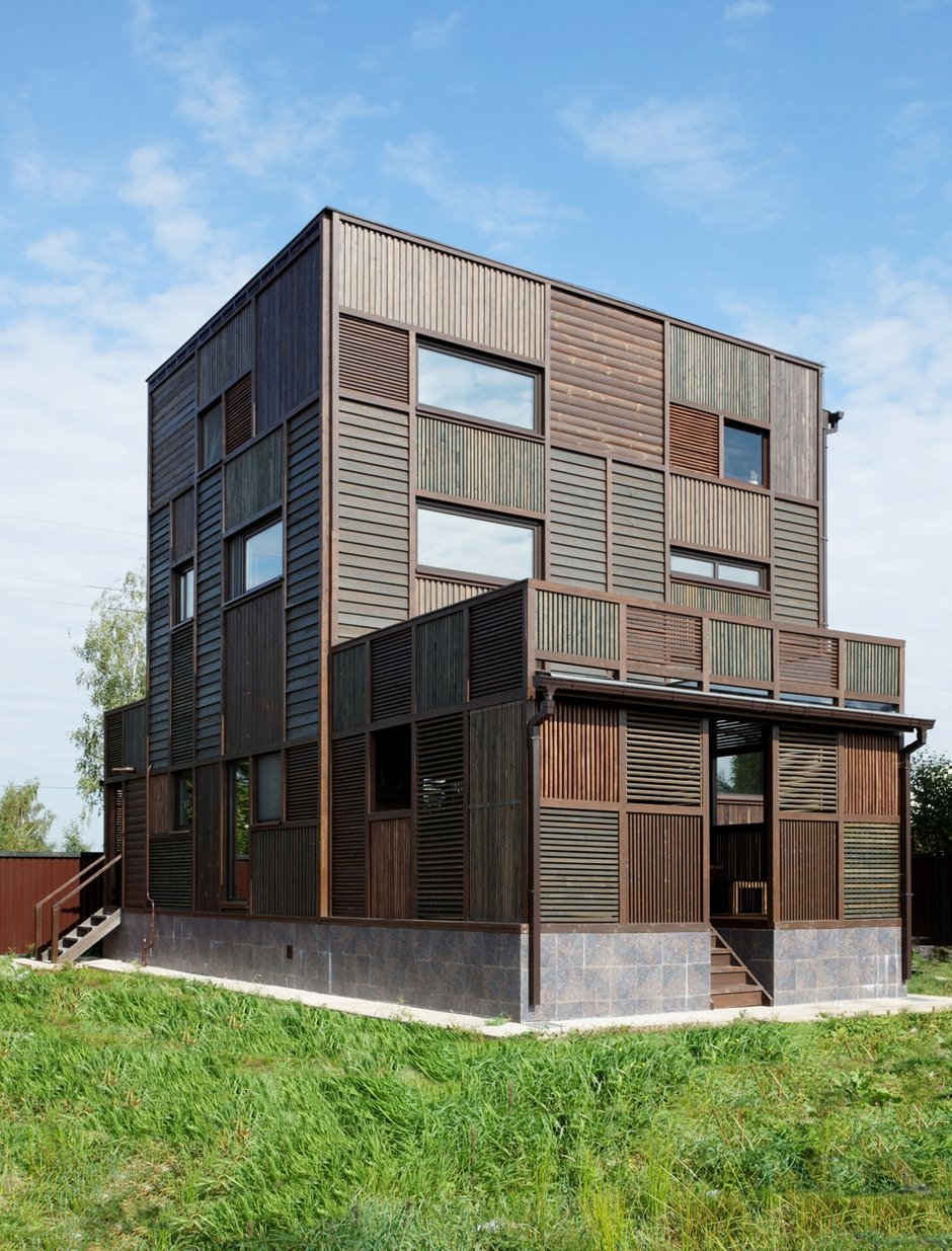 Фотография:  в стиле , Дом, Дома и квартиры, Проект недели, Дача – фото на INMYROOM