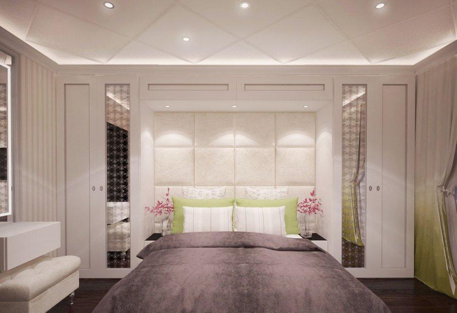 Фотография: Спальня в стиле Современный, Эклектика, Классический, Квартира, Проект недели – фото на INMYROOM