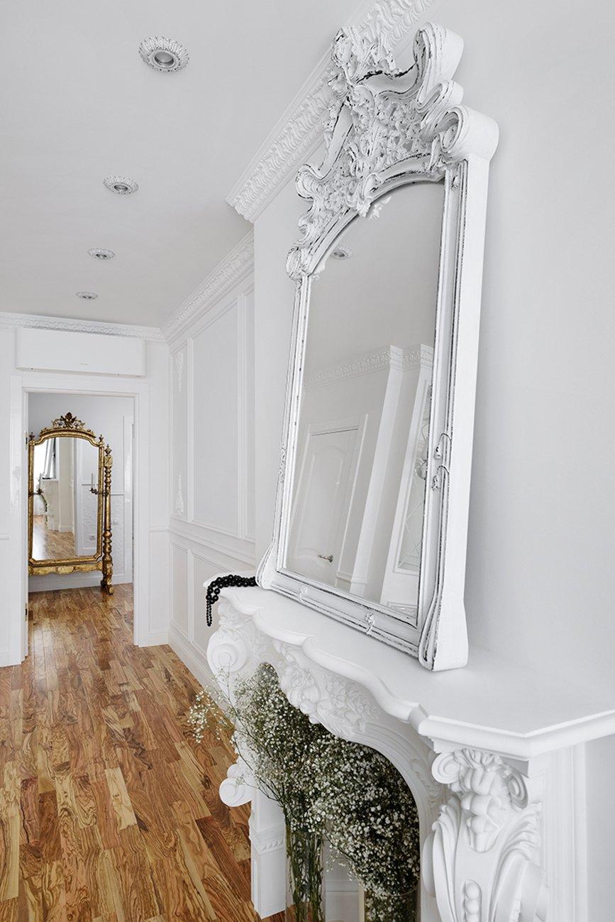 Фотография: Прихожая в стиле , Квартира, Цвет в интерьере, Дома и квартиры, Белый, Проект недели – фото на InMyRoom.ru