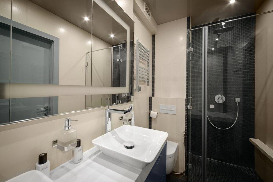 Фотография: Ванная в стиле Лофт, Современный, Квартира, Дома и квартиры, Проект недели, Поп-арт – фото на INMYROOM